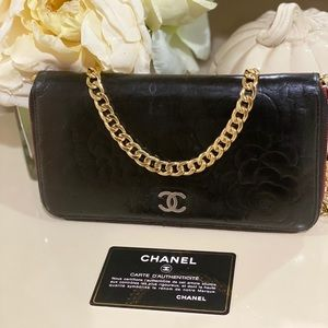 Chanel Quilted Long Crossbody Bag / WOC